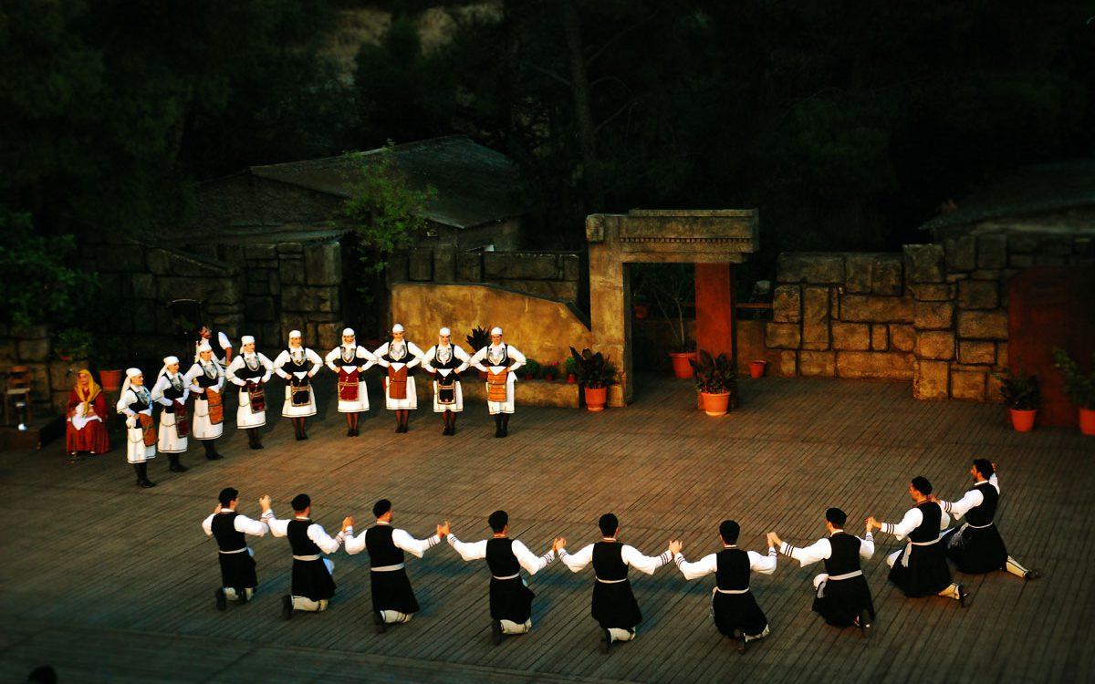 Greek Dance Dora Stratou Theatre