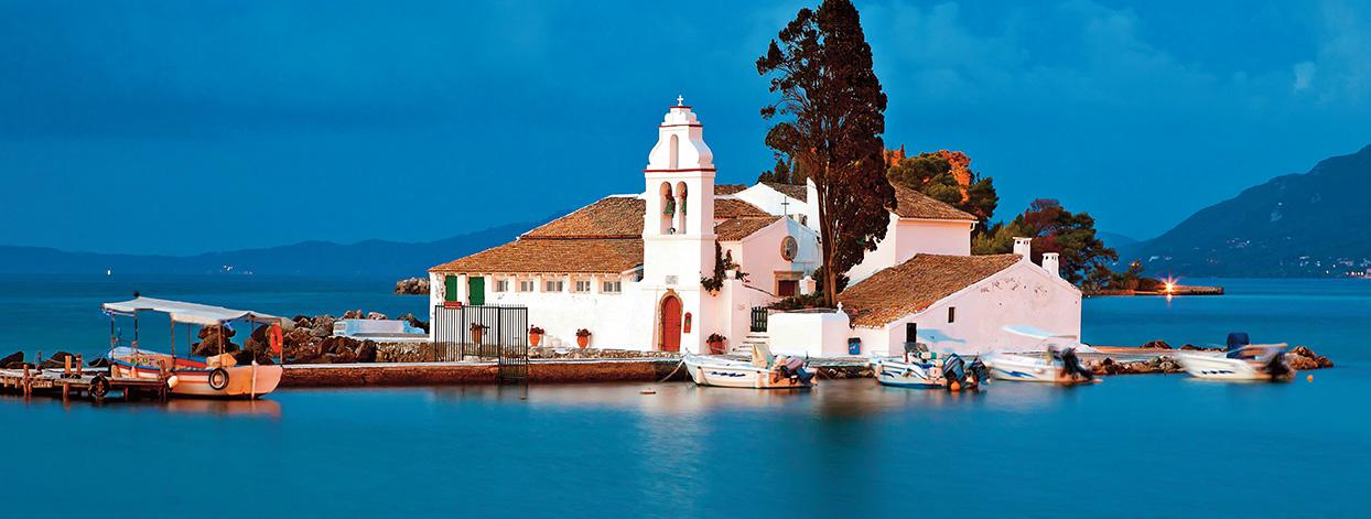 corfu greece places