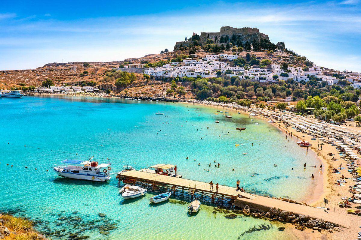 lindos beach greece